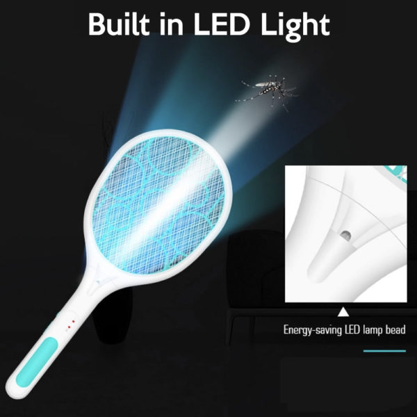 electric fly swatter tennis racket